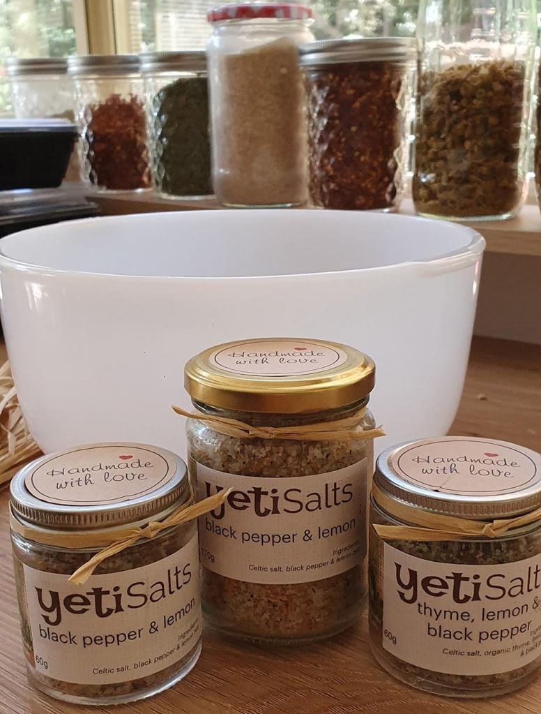 Create your own salt blends