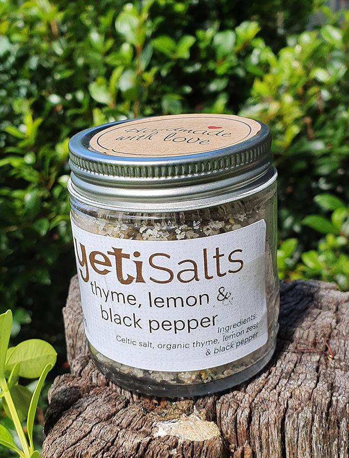 Thyme, Lemon & Black Pepper